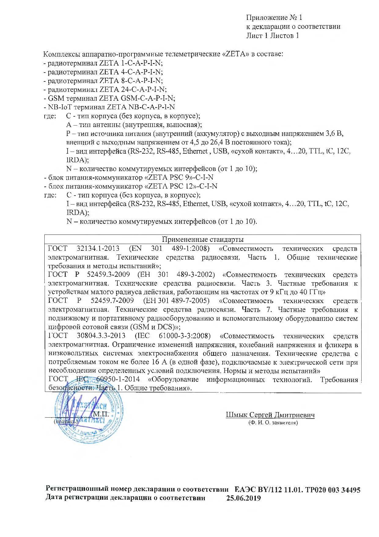 декларация ТС-2